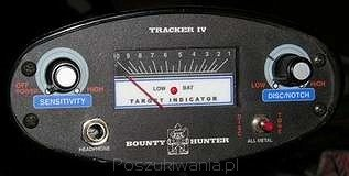 Wykrywacz metali Bounty Hunter Tracker IV